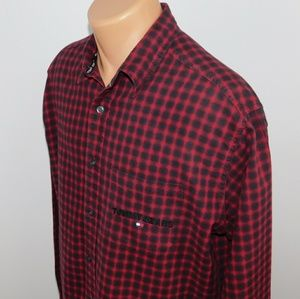 Tommy Jeans long sleeve button down. M
